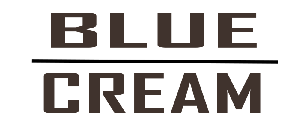 blue cream Logo