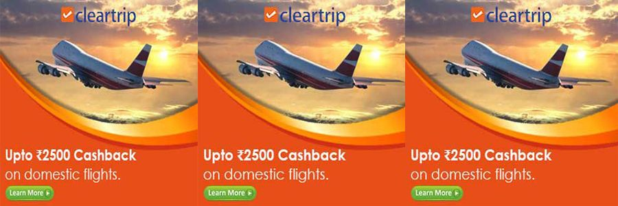 ClearTrip Banner