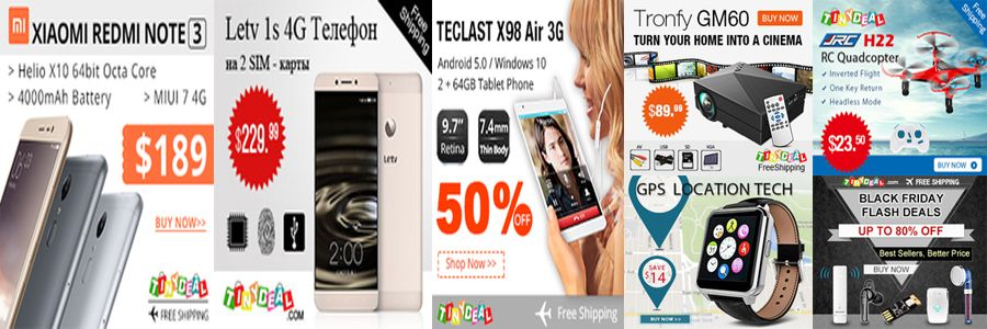 Tinydeal Banner