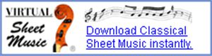 Virtual Sheet Music Logo